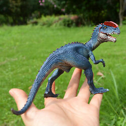 Realistic Dilophosaurus Dinosaur Toy Action Figure FUN Kids Christmas Gift $7.49