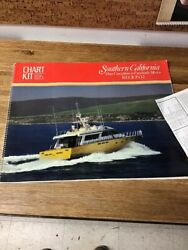 Vintage 1988 Chart Kit Bba Southern California To Mexico Region