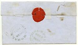 Scarce 1853 Cover With Seven 1841 1d Red-brown Issues To Golspie From Helmsdale