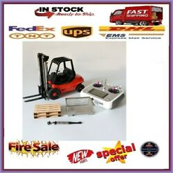 All Metal Rc Toys Engineering Forklift For 114 Scale Remote Control Hydraulic M