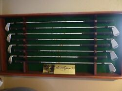 Ben Hogan Iron Set With Display And And039d Plate Heads In Plastic