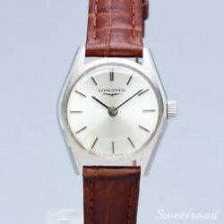 Longines Cal.5002 Vintage 1960s Manual Winding Womens Watch Authentic Working