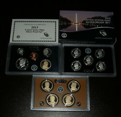 Beautiful 2013-s Silver 14 Coin Proof Set