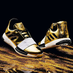 Adidas Harden Vol. 3 Imma Star Usa Olympic Gold Medal Black White Mens 7.5 Shoes