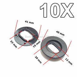 10x Floor Mat Fastener Carpet Mat Retainer For Vw Seat Skoda