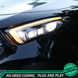 For Benz A-class Headlights 2019-2020 Full Led Projector Led Drl Turn Signal