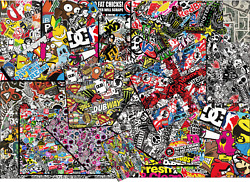 Over 50 Quality Sticker Bomb Designs A1 A2 A3 A4 Vinyl Decal Sheets