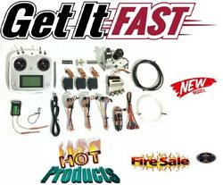New Radio System For Rc Excavator Model Vehicles And Remote Control Toys Set
