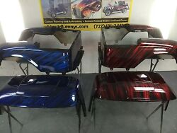 Ez Go Rxv Or Txt Golf Cart Body... Candy Red Or Candy Blue Streaker Paint Job