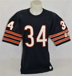 1980s Walter Payton Training Camp Game Worn Chicago Bears Jersey Solid Wear Vsa