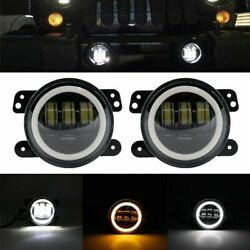 Round Led Work Light Tractor Truck Off-road Spot Beam Lights Vehicle Accessories
