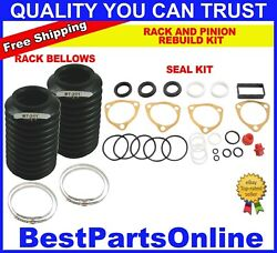 Power Steering Rack And Pinion Rebuild Kit For Rolls Royce 1984-2002
