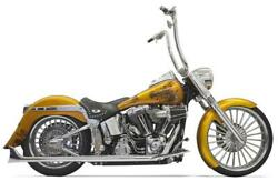Bassani Xhaust 30 True Dual Fishtails- With Baffles For And03907-and03917 Softails