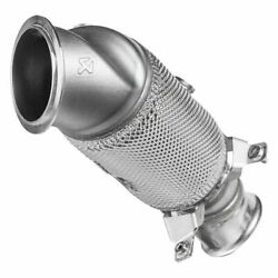 Dp-bm/ss/4/h Downpipe W Cat Ss For 16-17 Bmw M2 F87