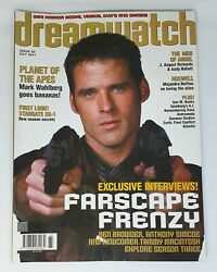 Dreamwatch 85 Magazine Farscape Planet Of The Apes Stargate Sg-1 Roswell Angel