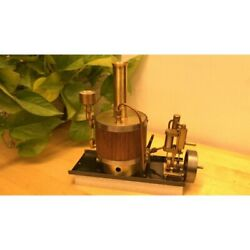 New Single Cylinder Steam Engine Model Marine Power System With Boiler