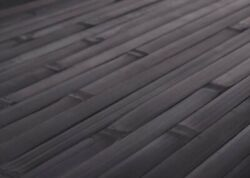 4ft X 8ft Bamboo Wainscoting Paneling Ebony Great For Tiki Thatch Bar Ceiling