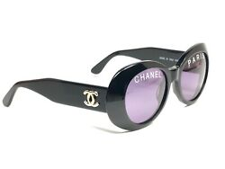 VINTAGE RARE 1993 01947 RUNWAY CHANEL SPRING  SUMMER BLACK FRAME 90'S ITALY