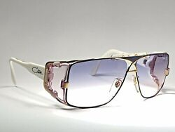 NEW VINTAGE CAZAL MOD 955 354 TRANSLUCENT 1980'S MADE IN WEST GERMANY SUNGLASSES