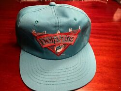 Vintage Miami Dolphins Snapback Hat New Without Tags