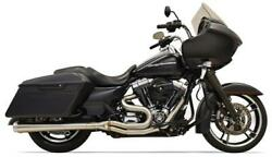 Bassani Long Road Rage Iii - 2 /1 Stainless Megaphone 1f11ss -and03995-and03916 Hd Touring