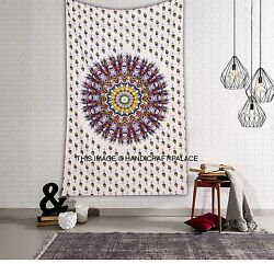 Indian Ombre Mandala Wall Hanging Gypsy Tapestry Bohemian Dorm Decor Hippie Twin