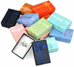 Jewelry Boxes Wedding Engagement Rings Storage Holder Paper Gift Box Cases 32pcs