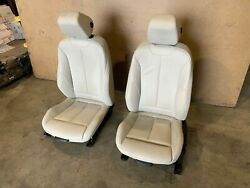 Bmw F36 Gran Coupe Front Left And Right Mtech Sport Leather Seats Set Oem 44k