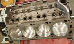 347ci Ford Short Blockrace Prep500+hp Forged Trickflow Pistons 4340 Crank