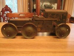 Antique Mar Toys Windup Military Tractor W-9116
