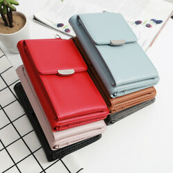 1x Multi-Function All In One Design Crossbody Phone Wallet Case Shoulder Bag New