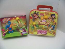 Lanard Toys Fairykins Set Of 4 And Firefly With Dandi. Both Sets. New