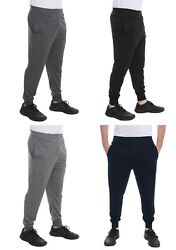 Men's Mesh Dri-Fit Pants Athletic Joggers Light-Weight Workout Track Gym S-XXL $9.99