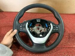 Bmw F30 F22 F32 Steering Wheel Mtech Red Stitched W/ Paddle Shifters Oem 38k