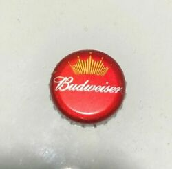 100 Old Style Budweiser Crown Silver Rim Beer Bottle Caps No Dents
