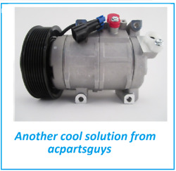 New Ac Compressor Direct Fit Replacement For John Deere Re326205 10sre18c