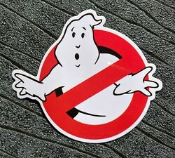 Ghostbusters Stickers Waterproof and UV resistant PVC sticker 60mm x 80mm