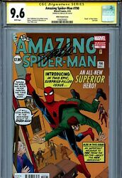 Amazing Spider-man 700 Cgc 9.6 Ss Ditko Cover Stan Lee Superior Doctor Octopus