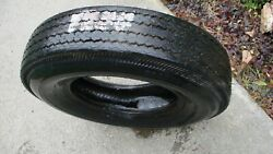Vintage Cooper Starfire Imperial 7.00-13 4 Ply Rayon Tubeless-rim Removed-nice
