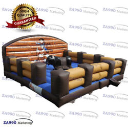 20x20ft Inflatable Rodeo Riding Bull Machine Game Sport With Air Blower