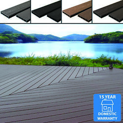 Any Sqm Wpc Composite Decking Boards Complete Kits And Fixings 4 Colour Wood Grain