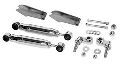 1928-32 Ford Weld-on Front Shock Absorber Conversion - 1064c - Chrome Shocks