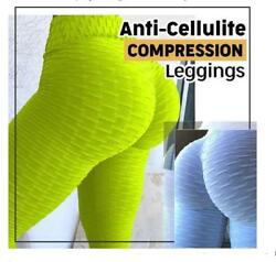 5D Anti-Cellulite Shaping Compression Leggings Booty Lift Pants -40% OFF Today