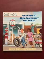 1993 World War Ii 50th Anniversary Young Collectorand039s Set W/6 Wwii Coins Rare