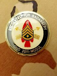 Rare, 20th Special Forces Group/canadain , For Badassery, Challenge Coin