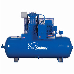 Quincy Qt Pro 7.5-hp 80-gallon Two-stage Air Compressor 230v 3-phase