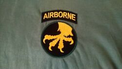 Usa United States Army 17th Airborne Division Hoodie