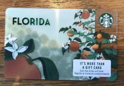 Lot Of 300 - Brand New 2019 Florida Starbucks Gift Card Cards