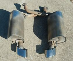 2009 Jaguar Xf 4.2l V8 Supercharged Exhaust System Rear Mufflers