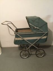 Antique Canvas Type Baby Buggy